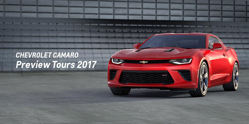 Chevrolet Camaro Preview Tours 2017_期間:2017.7.8[土] - 2017.7.9[日]