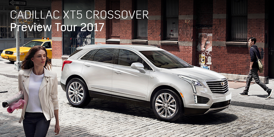 CADILLAC XT5 CROSSOVER PREVIEW TOUR 2017 開催_期間:2017.9.23[土]-2017.9.24[日]